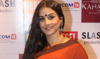 Vidya Balan launches DVD of movie 'Kahani'