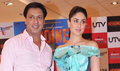 Kareena and Madhur Bhandarkar at Heroine film promotion
