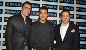 Aamir Khan launches the KOTAK IMAX Screen