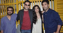 Abhay And Preeti Desai At Bombay Talkies Screening
