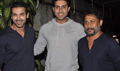 Abhishek At Madras Cafe Screening