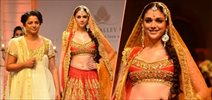 Aditi Rao Hydari walks for Preeti Kapoor at AVBFW 2013