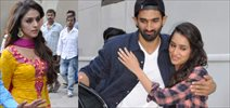 Aditya And Shraddha Snapped At Filmistan