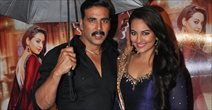 Akshay And Sonakshi Promote OUATIMA At Mumbai
