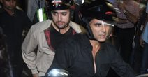 Akshay And Imraan Ride A Bike For OUATIMD Promotions