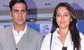 Akshay Sonakshi Promote Once Upon A Time in Mumbaai Dobara