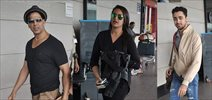 Akshay, Sonakshi & Imran leave for Dubai OUATIMD promotions