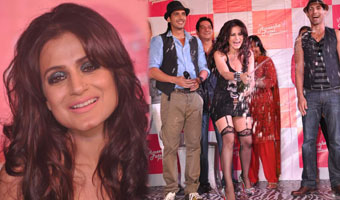 Launch of Ameesha Patel Productions Desi Magic