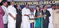 Assist World Records to Agadam Movie Team