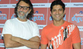 Farhan Akhtar And Rakesh Mehra At BMB Game Launch At Reliance Digital