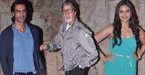 Amitabh Bachchan At D-Day Screening