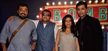 Karan, Anurag, Zoya and Dibakar at Bombay Talkies Press Meet