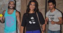 Sonam, Varun And Ranveer At Bombay Talkies Special Screening In Mumbai