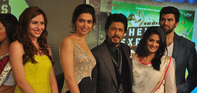 SRK unveils music of 'Chennai Express'