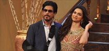 Shahrukh And Deepika Promote Chennai Express On Comedy Circus At Mumbai