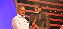 Amitabh Bachchan at CNN-IBN awards ceremony