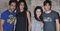 Parineeti, Sidharth And Ayushman Watch Bombay Talkies