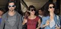 Kangna, Priyanka And Hrithik Return From Dubai Krrish 3 Promotions