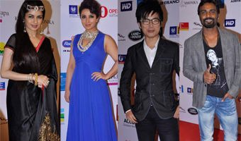 Celebs walk the ramp at Smiles foundation Fashion Show