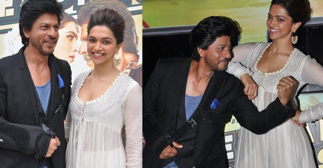 SRK launches 'Chennai Express' first look, praises Deepika
