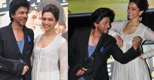 SRK launches 'Chennai Express' first look, praises Deepika