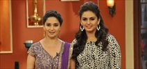 Madhuri & Huma promote 'Dedh Ishqiya' on Comedy Nights with Kapil
