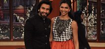 Deepika And Ranveer On The Sets Of Comedy Nights With Kapil