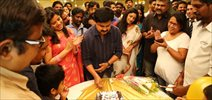 Dileep's Birthday celebration on the sets of Ezhu Sundara Rathrikal