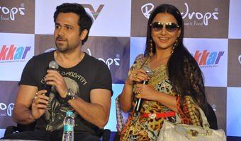 Emraan & Vidya at Ghanchakkar Promotions