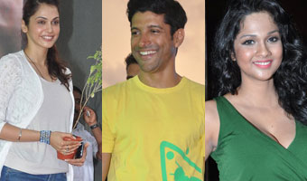Bollywood Celebs Support Campaign Go Green