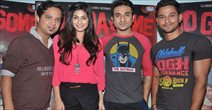 Kunal, Vir Das & Pooja Promote Go Goa Gone At MEhboob