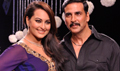 Akshay And Sonakshi Promote OUATIMA At Gitanjali Show For IIJW 2013