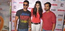 Go Goa Gone Star Cast Visits Mad Over Donuts Store
