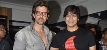 Hrihtik And Vivek Promotes Krrish 3 At Chandan
