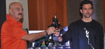 Hrithik Roshan Launches Official Krrish 3 Merchandise