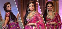 Huma Qureshi walks for Ashima Leena at AVBFW 2013