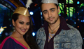 Imraan Sonakshi On The Sets Of Indian Idol Junior Eid Special