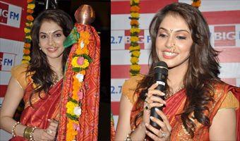 Isha Koppikar celebrates Gudi Padwa