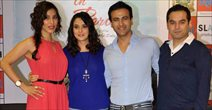 Preity And Sophie At Ishq In Paris Promotions In Infinity Mall