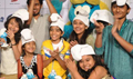 Junior Indian Idol Singers Launch Smurfs 2 Track