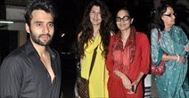 Jackky Bhagnani And Salman Khan Family Watch Himmatwala At Mumbai