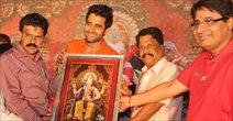 Jackky Bhagnani Promotes Rangrezz at Lalbaugh Ka Raja