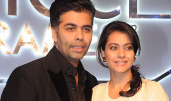 Kajol and Karan Johar at FICCI Frames