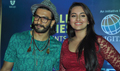 Ranveer And Sonakshi Promote Lootera At Palladium In Mumbai
