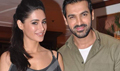 Nargis And John Promotes Madras Cafe At A Special TV Shoot