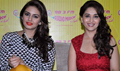Madhuri And Huma Promote Dedh Ishqiya At Radio Mirchi