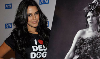 Neha Dhupia Launches Pro-Veg Ad Campaign With PETA
