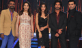Shahid  And Ileana Promote PPNH On Jhalak Sets