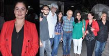 Pooja Bhatt Candid At Aashiqui 2 Screening In Ketnav