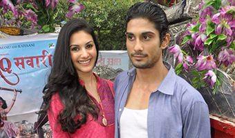 Prateik and Amyra Promote Film Issaq